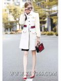 Qualitäts-Kleidungs-Entwerfer-Frauen/lange Umhüllung der Dame-Fashion Winter Wool Outdoor