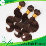 Выдвижения человеческих волос 100% волосы девственницы Unprocessed бразильские