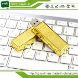 presente de promoção Quente Golden Unidade Flash USB