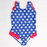 높은 신축성 여자 아기의 수영복 Beachwear Monokini