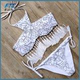 Form-reizvoller Mädchen-Bikini-Badeanzug-zweiteiliger Großverkauf