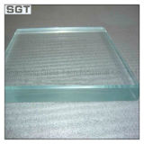 10mm 12mm Safety Low Iron/Ultra Clear Tempered Knell for Shower Room