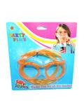 Смешные очки трубочки Food Grade ПВХ-участник акции с соломы в блистерной упаковке упаковка