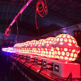 Новый кристалл UFO поворачивая свет шарика СИД