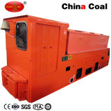 Locomotiva della batteria di cantieri sotterranei di Cay25/9gp 25t per miei