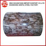 Patrón de hojas de chapa de acero galvanizado Pre-Coated PPGI