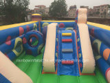Campo de jogos Bouncy inflável dos cursos de obstáculo do projeto novo para miúdos