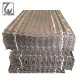 Folha de aço galvanizada da telhadura do metal ondulado