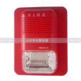 전통적인 시청각 경보 12V 의 화재 경고 스트로브 빛