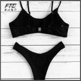 Faites de maillots de bain personnalisé Smocked texturée Bikini Sexy Femme