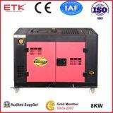 8kw generatore diesel raffreddato ad acqua EV80 del cilindro di monofase 2 grande