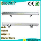 Resistente al agua 18pcs 3W RGB 3 en 1 LED Bañador de pared
