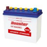 낮은 자체 방전 장기 사용 일본 표준 자동차 배터리 Ns60 12V45ah