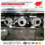 Remorque de camion-citerne d'essence de Tri-Essieu de fournisseur de la Chine avec le train d'atterrissage de Jost