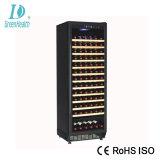 A poupança de energia Porta de vidro Vinho Tinto Mostruário de armazenamento