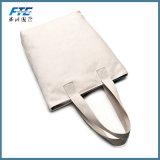 Lona barata de los deportes de Eco calificada bolso de totalizador de señora Shopping de la talla estándar con los bolsillos exteriores