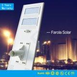 IP65 tutto in un indicatore luminoso di via solare solare degli indicatori luminosi di via 20W