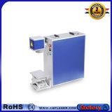 Heißer Verkaufspreis-bewegliche Faser-Laser-Markierungs-Maschine für Edelstahl/Plastik/ABS/Pes/PVC