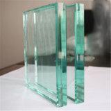 Le verre trempé clair de 4 mm avec bords polis