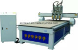 Heads 두 배 Vacuum Table 6kw Spindle Wood CNC Router 1325년
