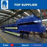 [تيتن] عربة منخفضة سرير مقطورة لأنّ النقل من 75 طن و45 طن آلات