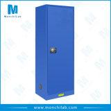 Голубой въедливый жидкостный шкаф хранения
