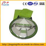 Medalha feita sob encomenda do metal da competição da alta qualidade