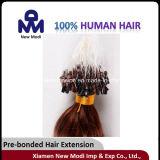 El cabello humano virgen Micro Ring Loop Hair Extension