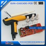 A cascata de alta tensão +Placa do Circuito / PCB + amarelo / eletrostática revestimento em pó Manual / Pistola de Pulverização