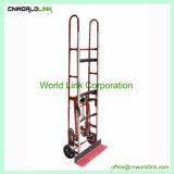 Alta calidad de 300kg subir las escaleras plegables de acero carros de mano trolleys