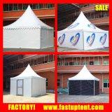 Белый шатер Pagoda высокого пика стены PVC соединился для более большого космоса
