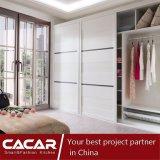 بسيطة بيضاء خزانة ثوب مقصورة لأنّ غرفة نوم أثاث لازم مع لوح خشبيّ