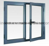 Finestra esterna del blocco per grafici d'acciaio della finestra della stoffa per tendine dello schermo della finestra della lega di alluminio di rivestimento di stuoia