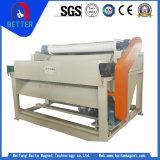 Tipo seco rodillo magnético del hematites del fabricante de China para el procesamiento de la roca/de la mina/de minerales