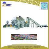 Recycler le plastique PC/PP/PE Mise au rebut la granulation de l'extrudeuse Making Machine