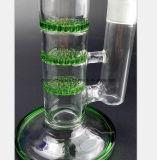 De Waterpijp van het glas van Drie - Pijp van de Filter van de Kleur van de Laag de Cellulaire