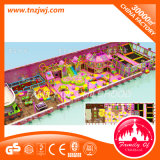 Equipamento de labirinto de plástico playground coberto Naughty Castle