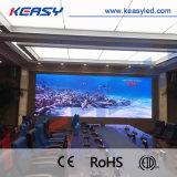 항공 알루미늄 합금 쉘 HD 실내 LED 동적인 영상 스크린