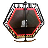 Trampoline de salto estável super de uma aptidão de 6 pés da aranha para o clube de salto da ginástica da intensidade