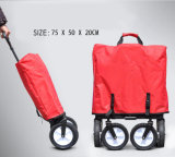 4 Ferramenta Dobrável portátil da roda do carrinho de Jardim