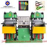 Produits en caoutchouc de batterie de cuisine de trousseau de clés faisant la machine de moulage par compression