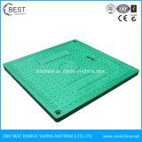 500x500mm Square uma tampa de inspeção de esgoto composto15