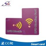 クレジットカード情報安全のためのカードを妨げるスマートなRFID