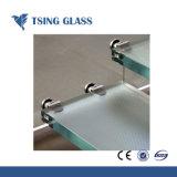 6+6 mm/8+8mm Antiskid laminado Templado de Vidrio para Escalera / Piso