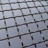 鉱山のふるいの高く抗張ステンレス鋼のひだを付けられた金網