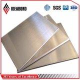 Lustre material decorativo de Foshan alto que hace publicidad del panel compuesto de aluminio