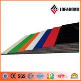 Ideabond銀製PVDFのコーティング外部ACPのプラスチックパネル