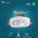 Fábrica de China LED Down luz COB Downlight 10W / 5W LED de iluminación