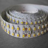 O CE aprovou da tira flexível do diodo emissor de luz de SMD 3528 fileiras Luz-Dobro