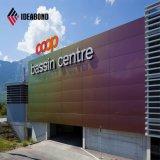 precio de fábrica de espectros de la pantalla de nuevo diseño del Panel Compuesto de Aluminio (ACM)